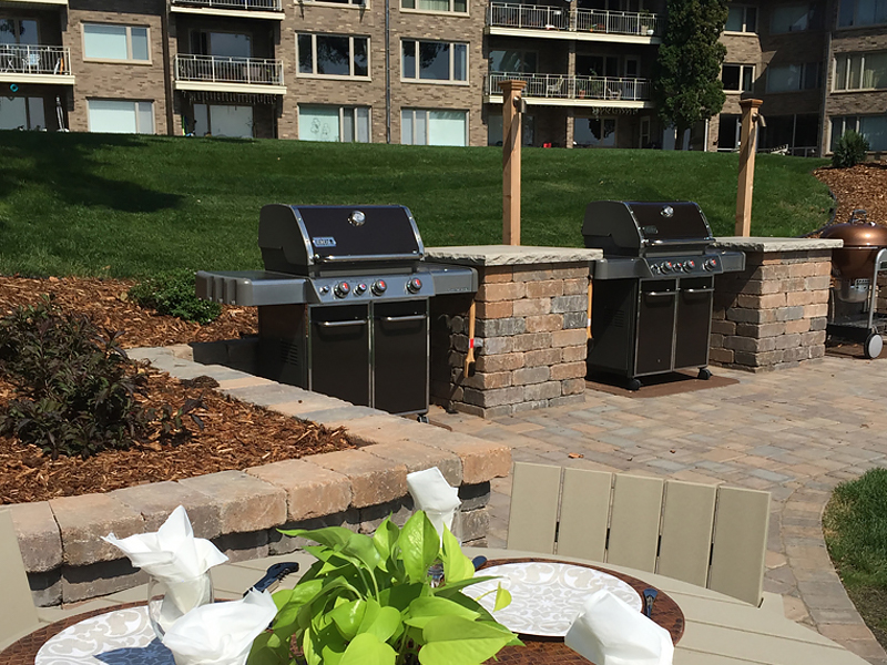 Grill-area